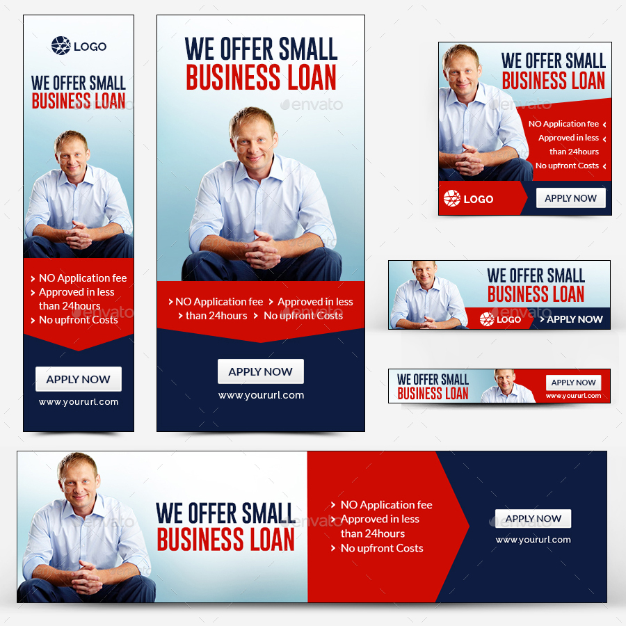 Business Loan Banners By Hyov Graphicriver