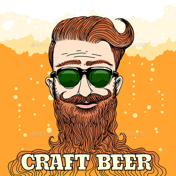 Hipster Craft Beer Theme - Miscellaneous Characters