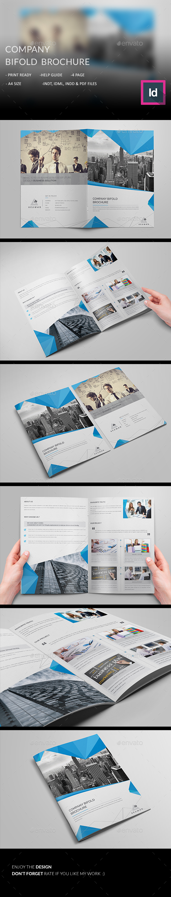 Company Bifold Brochure  - Corporate Brochures