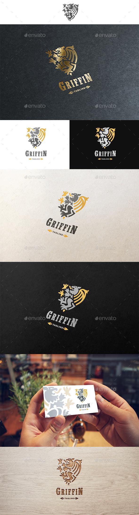 Griffin Logo - Crests Logo Templates