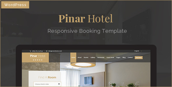 Pinar Hotel - WordPress Booking Template - Travel Retail