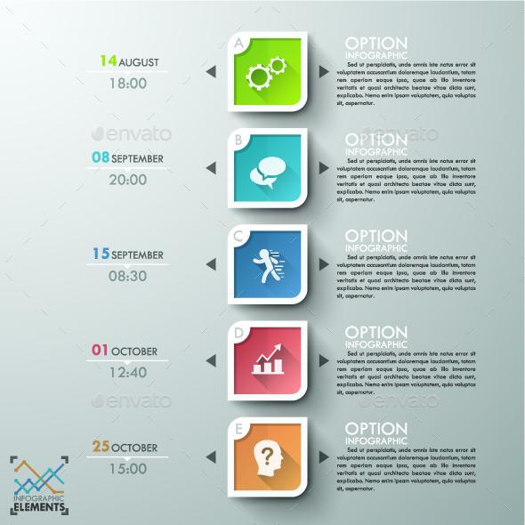 Modern Infographics Timeline Template - Infographics