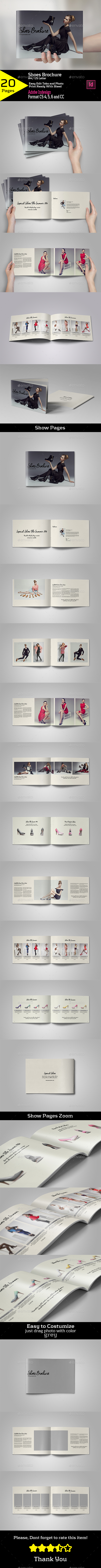 Shoes Brochure A4/US Letter - Brochures Print Templates