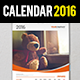 Wall Calendar 2016 Set - GraphicRiver Item for Sale