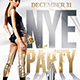 New Year Chic Party | Nye Flyer Template - GraphicRiver Item for Sale