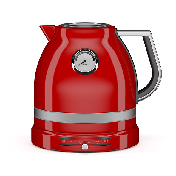 Red Electric Kettle - 3DOcean Item for Sale