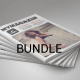 4 in 1 Magazines Bundle - GraphicRiver Item for Sale