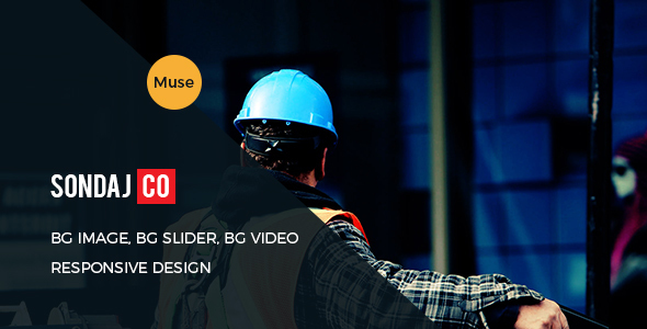 Sondaj Construction Muse Template