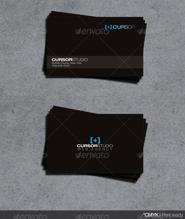 Web Agency Business Card - Corporate Business Cards