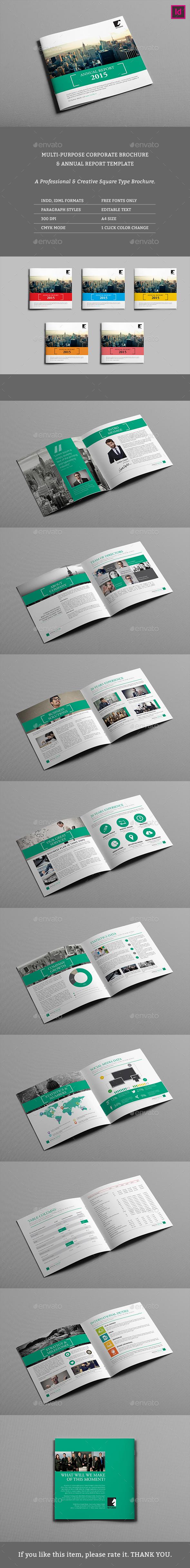 Square Corporate Brochure 01 - Corporate Brochures
