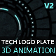 Tech Logo Plate V2 - VideoHive Item for Sale