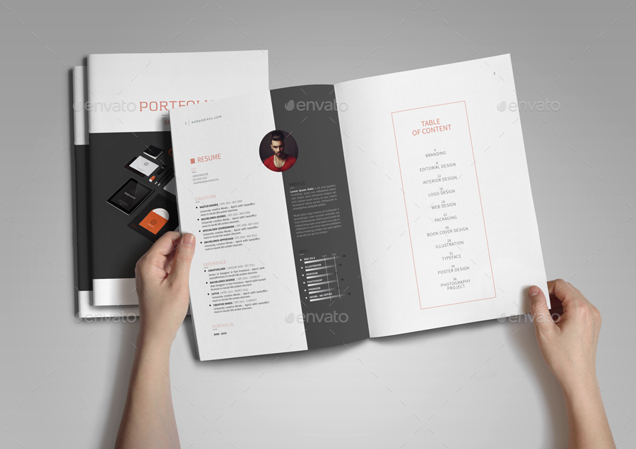 Graphic Design Portfolio Template