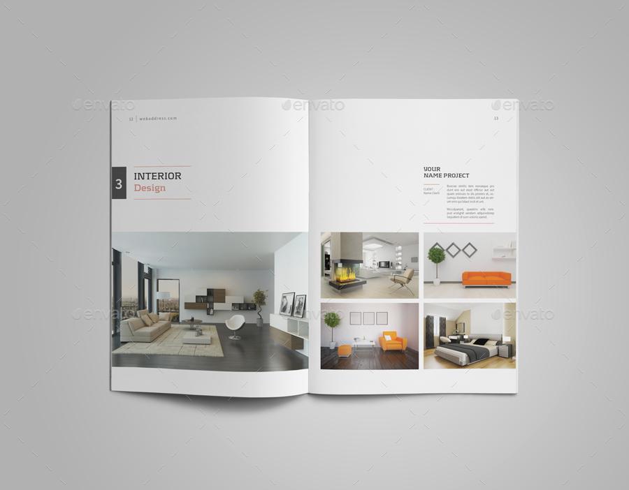 Graphic Design Portfolio Template by adekfotografia | GraphicRiver