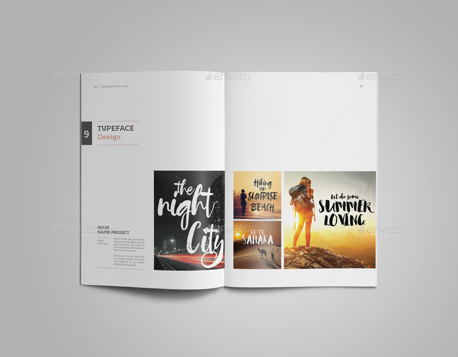 how to make a graphic design portfolio examples