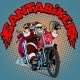 Santa Claus Biker Motorcycle Christmas Gifts - GraphicRiver Item for Sale