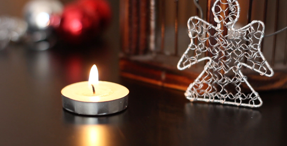 Little Christmas Candle