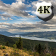 Remote Mountain Lake Beneath Flowing Clouds  - VideoHive Item for Sale