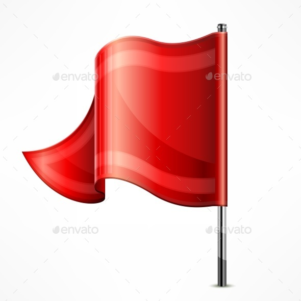 Red Flag - Miscellaneous Vectors