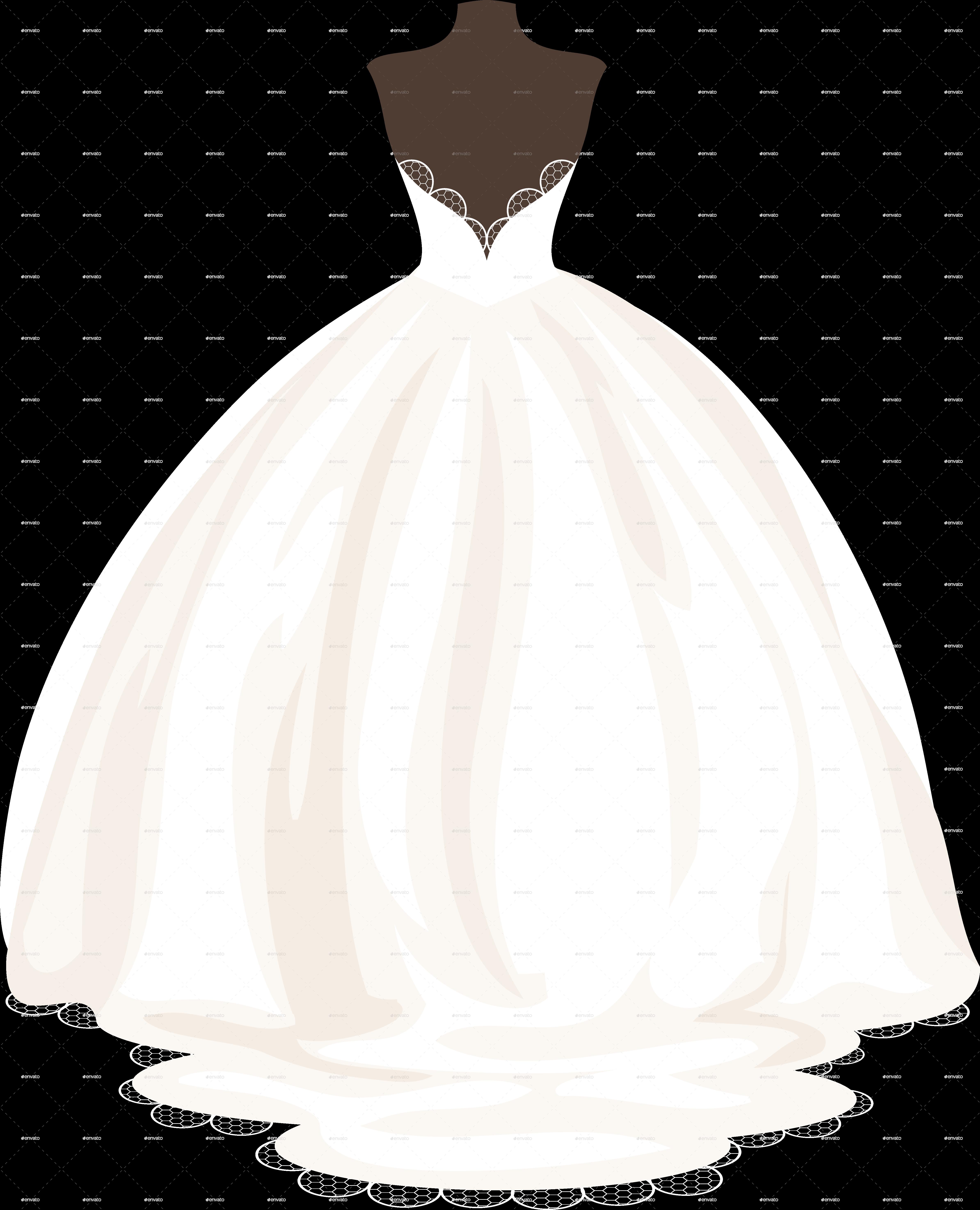 wedding dress by artbesouro graphicriver