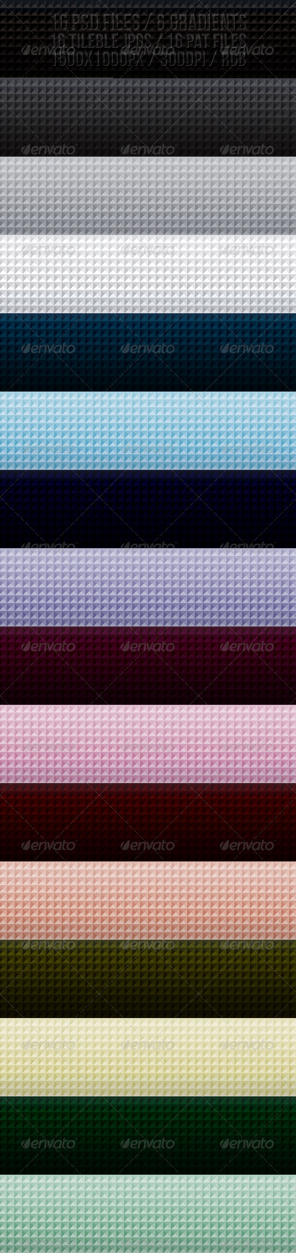 PATTERN BACKGROUNDS SET - Abstract Textures