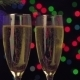 New Year And Christmas Celebration. Two Champagne - VideoHive Item for Sale