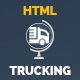 Trucking-Transportation & Logistics HTML Template Nulled