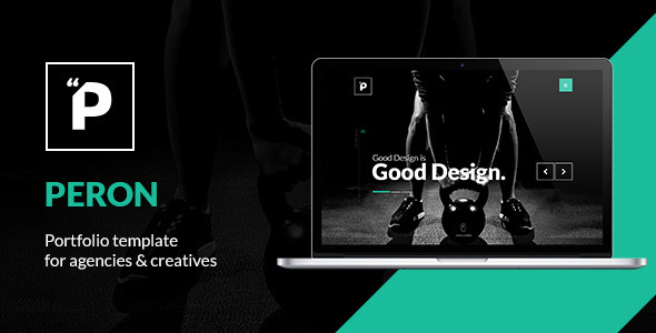 Peron – Creative One Page HTML Template