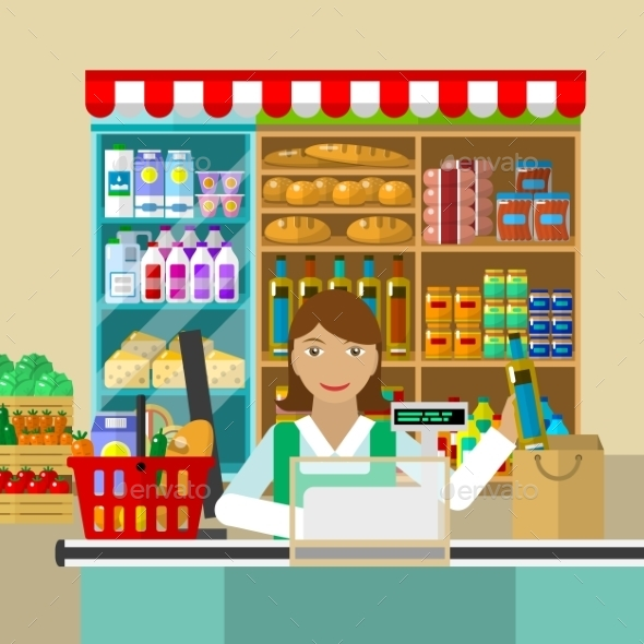 Shop, Seller Of Products - Retail Commercial / Shopping