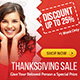Thanksgiving Sale Banner - GraphicRiver Item for Sale