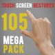 105 Touch Screen Gestures Mega Pack - VideoHive Item for Sale