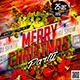 Flyer Merry Christmas Konnekt - GraphicRiver Item for Sale