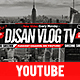 Vlog YouTube Cover - GraphicRiver Item for Sale