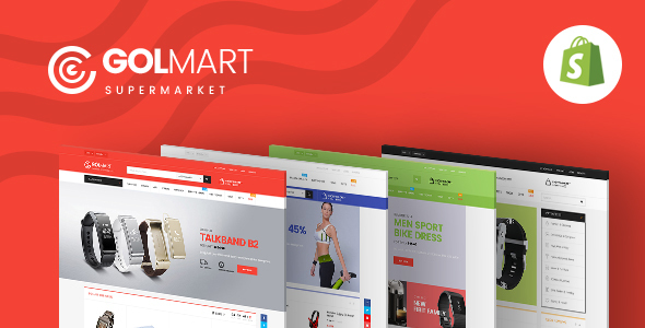 Image of Ap Golmart - Responsive Shopify Theme