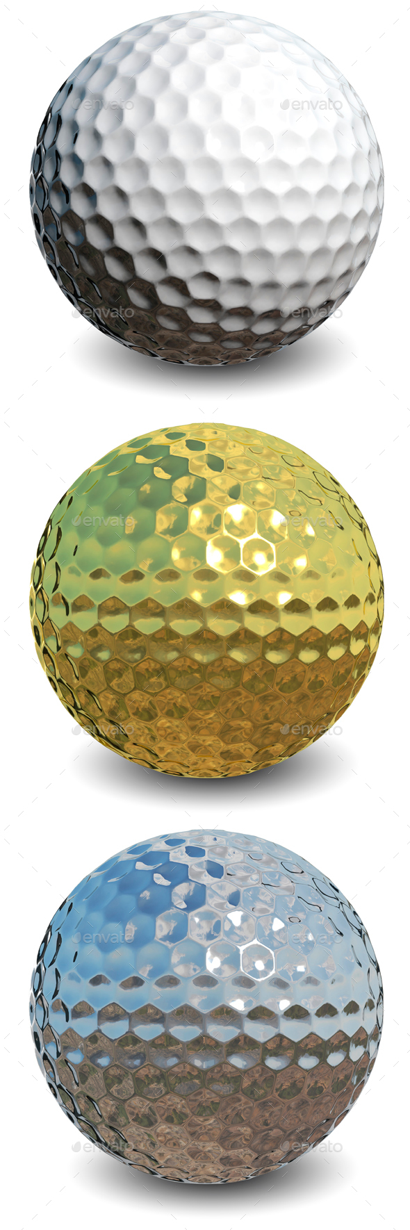 Golf ball - Objects 3D Renders