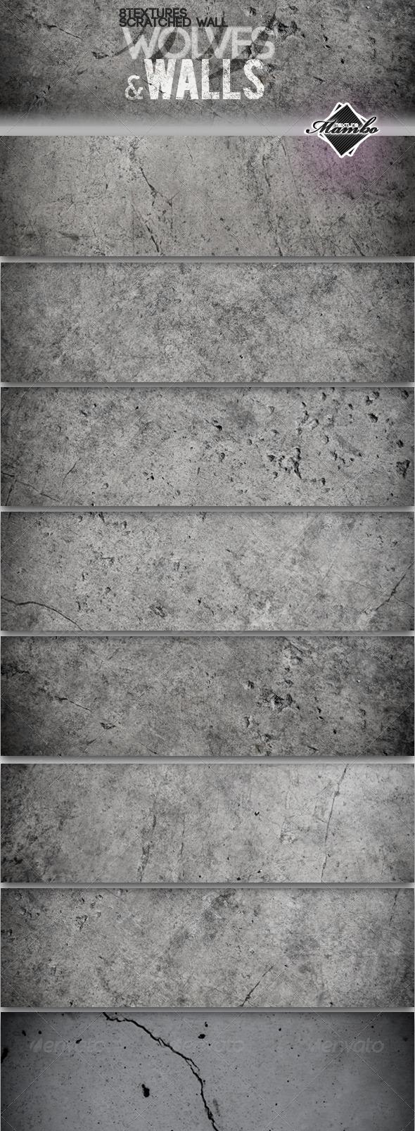 Wolves & Walls - Concrete wall textures - Concrete Textures