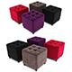 Pouf capitonne - 3DOcean Item for Sale