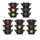 Traffic Light Vector Illustration - GraphicRiver Item for Sale