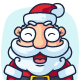 Santa Claus Cartoon Character Set - GraphicRiver Item for Sale