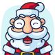Santa Claus Cartoon Character Set - GraphicRiver Item for Sale