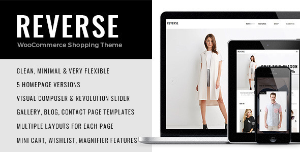 Reverse – WooCommerce Shopping Theme