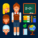 Female Teacher - GraphicRiver Item for Sale