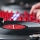 Hands Of a Disc Jockey On The Professional Mixing - VideoHive Item for Sale