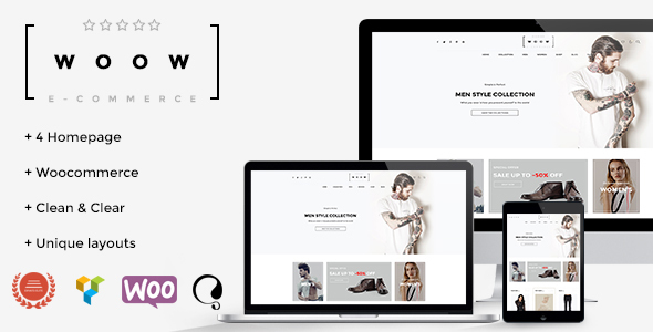 WOOW – Responsive WooCommerce Theme