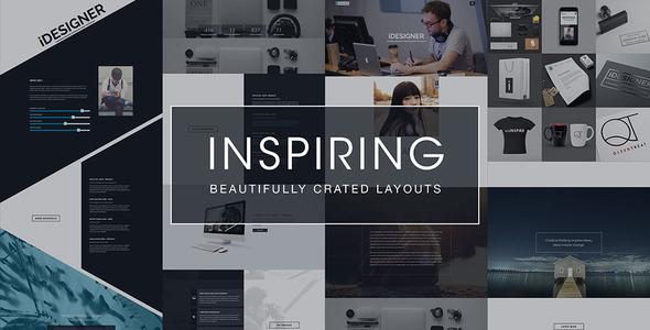 iDesigner – Elegant Creative Portfolio Template