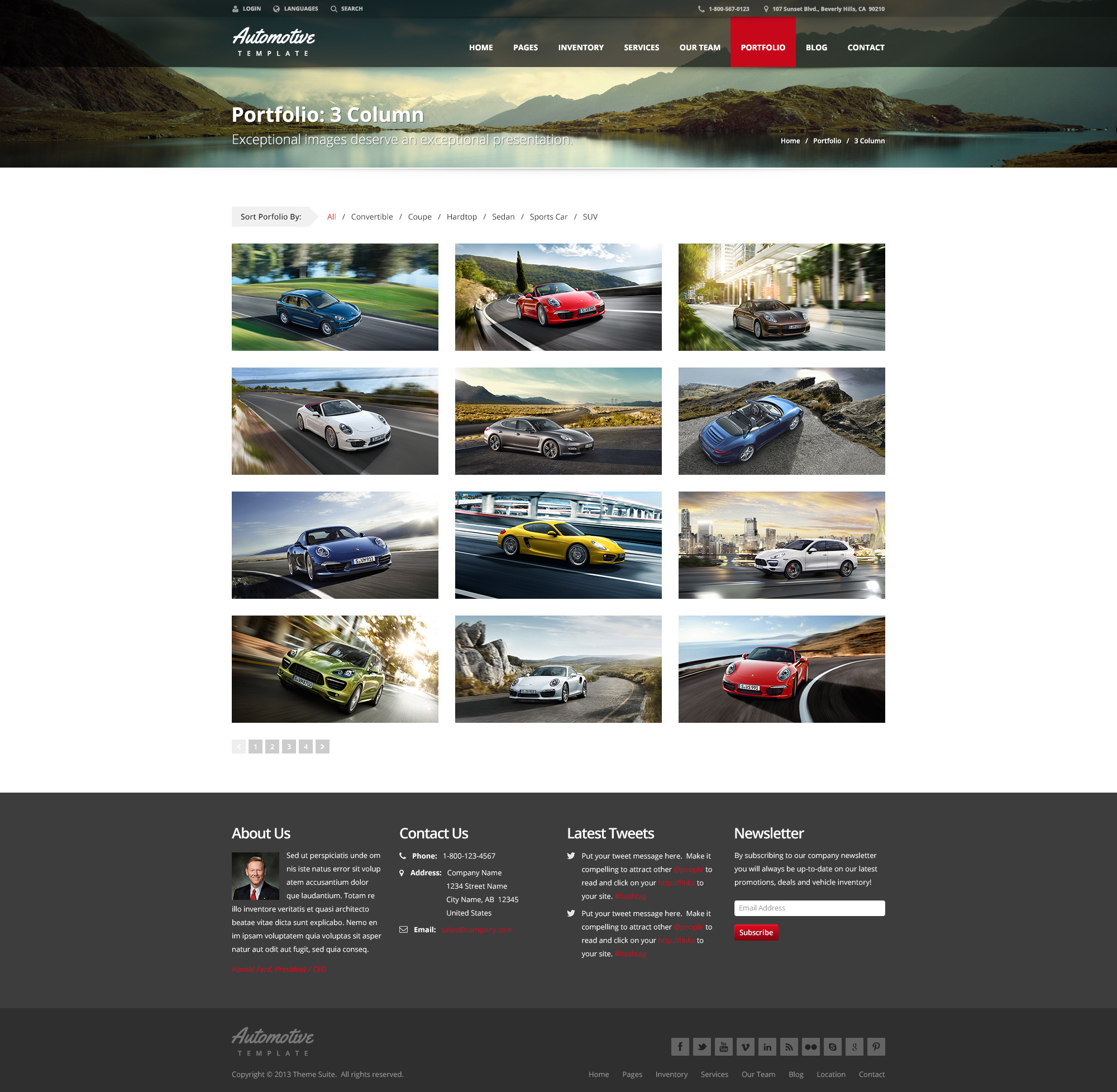 Automotive car dealership business wordpress theme by themesuite automotive car dealership business wordpress theme magicingreecefo Image collections