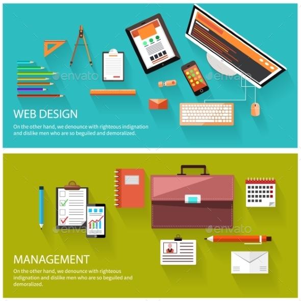 Management and Web Design - Concepts Business