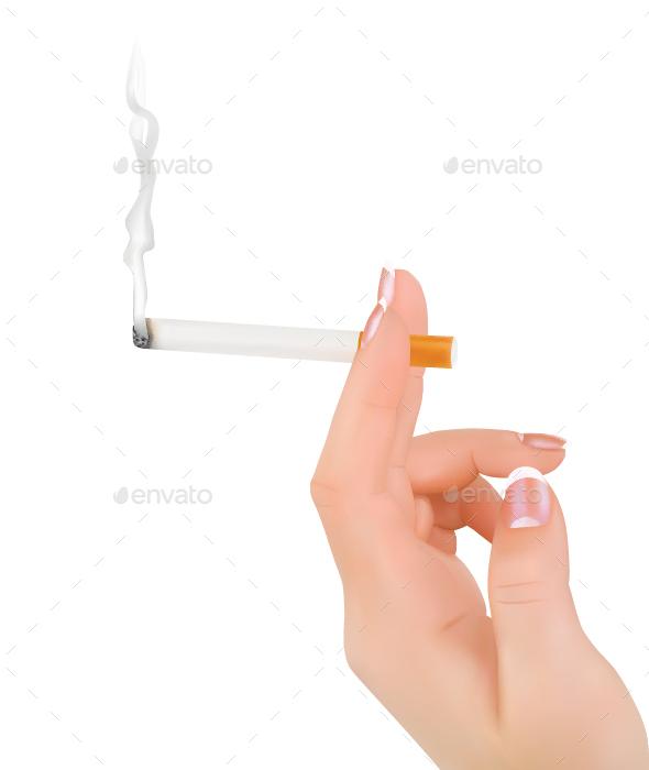 Smoking - Health/Medicine Conceptual