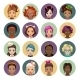 Cartoon Girls Avatars - GraphicRiver Item for Sale