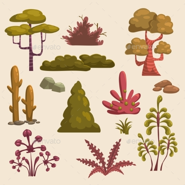 Nature Elements - Seasons Nature
