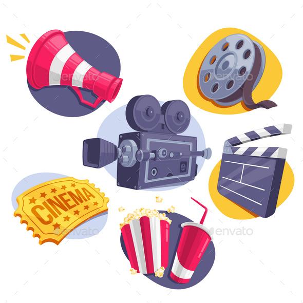 6 Movie Icons - Media Technology
